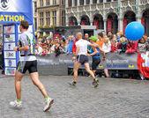 Brussels Marathon and Half Marathon — Stock Photo