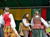 Lithuanian Folk music group Poringe — Stock Photo