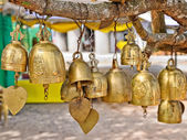 Bells of Buddhist temple — Stock Photo
