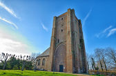 Church of Sint Anna ter Muiden in municipality of Sluis, Zeeland Province in the Netherland — Stock Photo