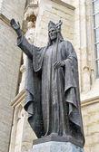 Statue of Jesus at Saint Martinus Basilica in Halle, Belgium — Stock Photo