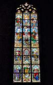 Collegiale Saint-Ursmer church — Stock Photo