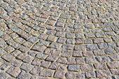 Stenar av medeltida torget — Stockfoto
