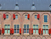 Center of city Middelburg in province Zeeland, Netherlands — Stock Photo