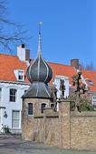 Historical center of Middelburg, Netherlands — Stock Photo
