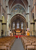 Interior of Saint Veronus Church in Lembeek — Stock Photo