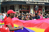 Activists of Gay Pride Parade — Foto de Stock