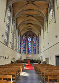 Interior of church Saint Jean and Nicolas in Nivelles — Stock Photo