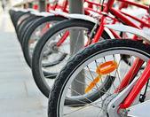 Bicicletas para alugar — Foto Stock