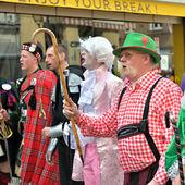 Yearly Halle Carnival. Belgium — Stock Photo