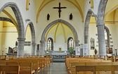 Interior of Saint Gery church, Ronquieres, Belgium — Stock Photo