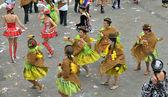 Yearly Halle Carnival, Belgium — Stock Photo