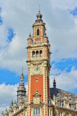 Ancient Chamber of Commerce of city Lille, France — Stock Photo