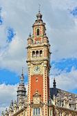 Antigua cámara de comercio de la ciudad de lille, francia — Foto de Stock