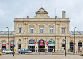 Railway station of Reims, France — Stock Photo