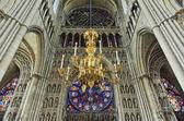 Katedralen vår dam av reims eller notre-dame de reims — Stockfoto