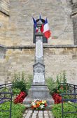 Memorial in Plivot commemorating victims of I World War 1914-1918, France — Stock Photo