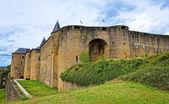 Castle Sedan known from 15 century, France — Stock Photo