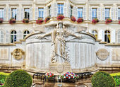 City hall in historical center of Epernay, France — Stock Photo