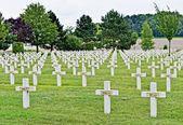 Military cemetery of War 1914-1918 near Aisne, France — Stock Photo