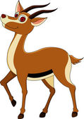 Cute gazelle — Stock Vector