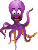 Cute octopus — Stock Vector