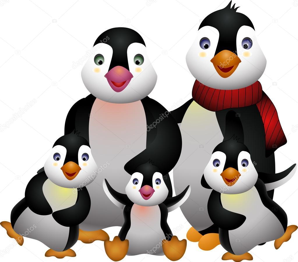 Penguin Family Free Vector Art  1222 Free Downloads