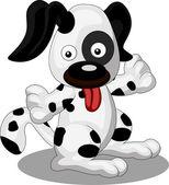 Cute puppy — Stock Vector
