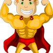 Strong Super Hero — Vector de stock #12842606