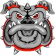 Bulldog Mascot Head — Stock Vector #12846998