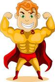 Forte super eroe — Vettoriale Stock