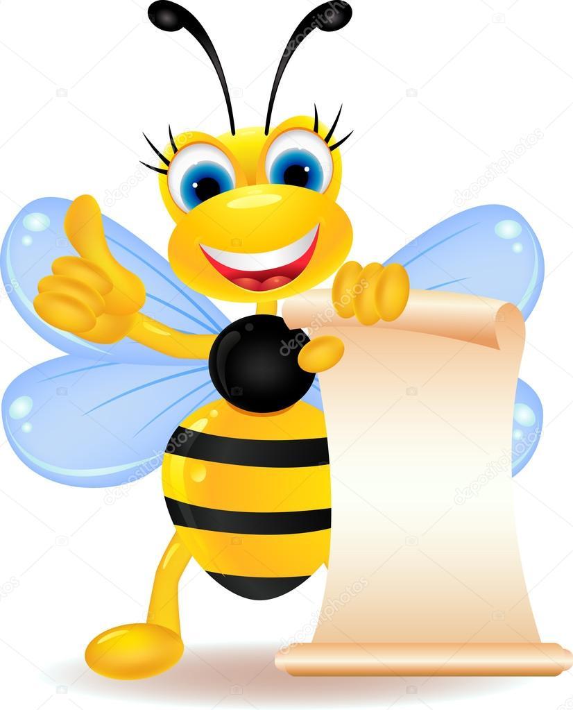蜜蜂提桶简笔画