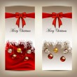Royalty-Free Stock Vector Image: Beauty christmas card background