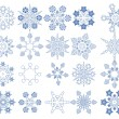 Snowflake Vectors collection — Stock Vector #15597947