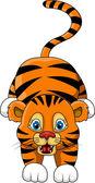可爱小老虎卡通表达式图片