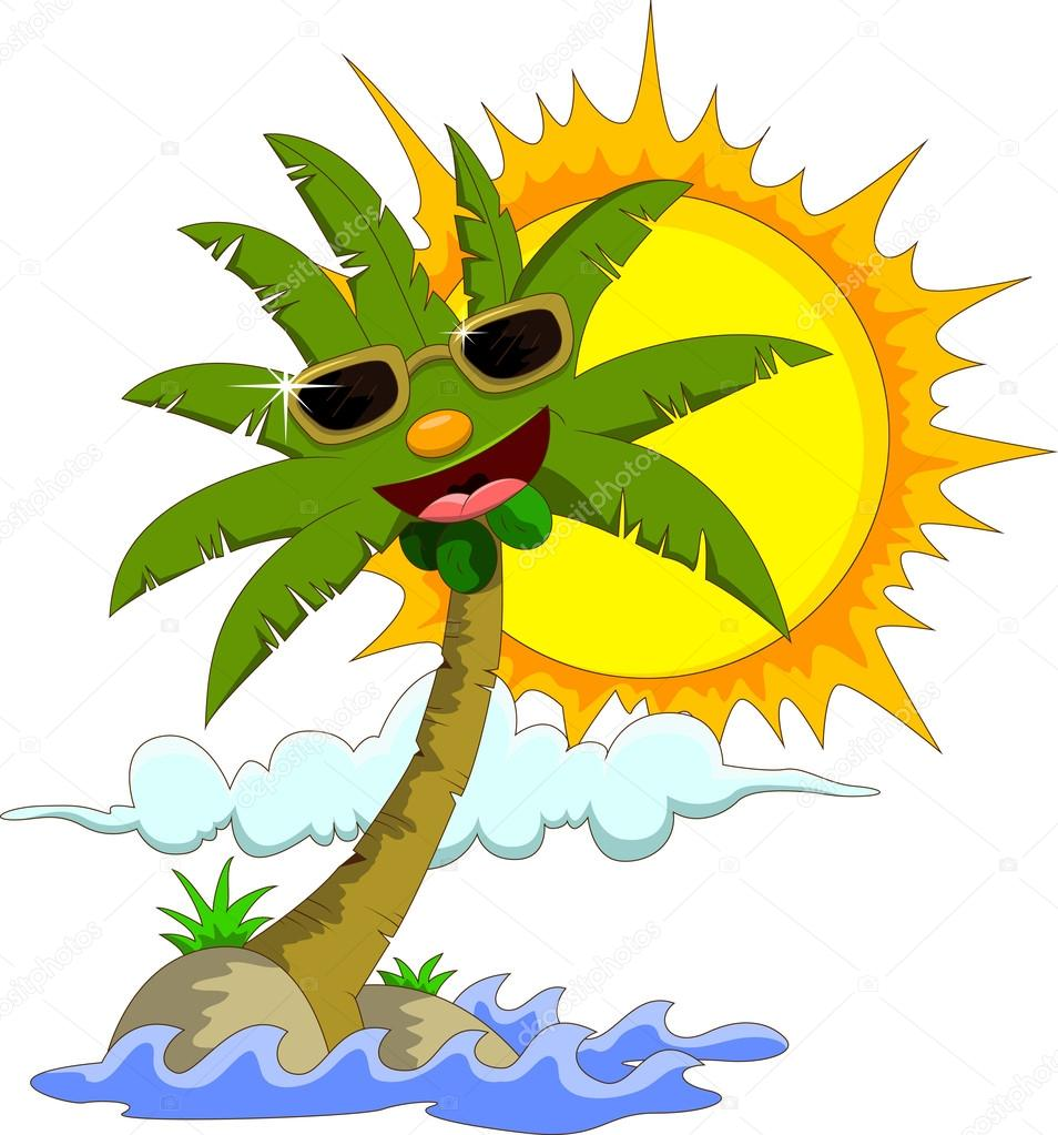 Palm Trees Cartoon Images With Cartoon Palm Tree And