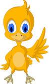 Cute chick cartoon — Stock Vector