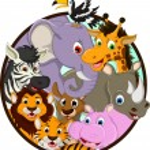 Cute animals wildlife cartoon — Stock Vector #32936149
