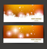 Christmas banners for you design — Stockvektor