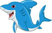 Shark cartoon — Stock Vector