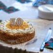 Stock Photo: 50th Birthday Cake
