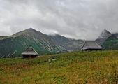 Vecchia casa di montagna — Foto Stock