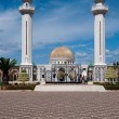 Mausoleum of the ex president Habib Burguiba in Monastir in Tunisia — Stock Photo