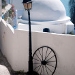 Stock Photo: Original architectural style of houses of city Sidi Bou Said, Tunis