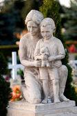 Cemenery Statue — Stock Photo