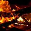 Stock Photo: Fire place