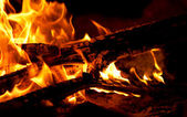 Fire place — Stock Photo