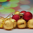Decoration Christmass ball — Stock Photo
