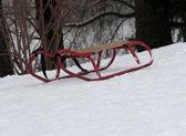 Kovový tobogán — Stock fotografie