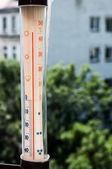 Summer heat thermometer — Stock Photo